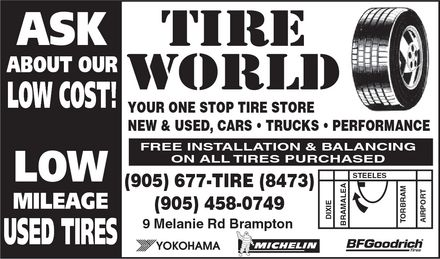 Ads Tire World