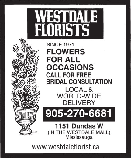Ads Westdale Florists