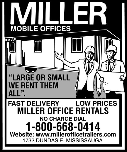 Ads Miller Office Rentals