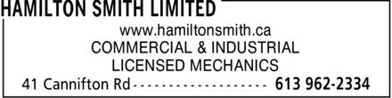 Ads Hamilton Smith Limited