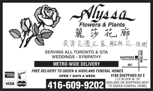 Ads Alyssa Flowers & Plants Inc