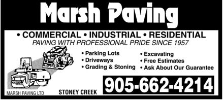 Ads Marsh Paving Ltd