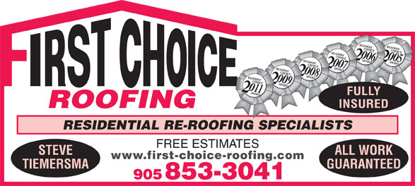 Ads First Choice Roofing