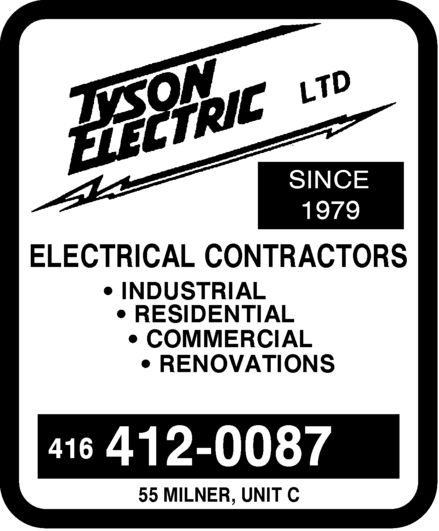 Ads Tyson Electric Ltd