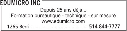 Ads Edumicro Inc