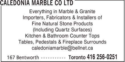 Ads Caledonia Marble Co Ltd