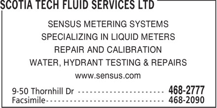 Ads Scotia Tech Fluid Services Ltd