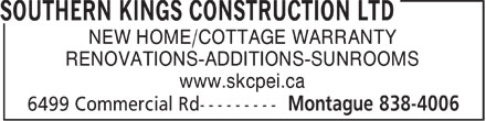 Ads Southern Kings Construction Ltd