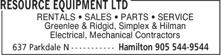 Ads Resource Equipment Ltd