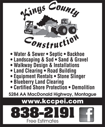 Ads Kings County Construction Ltd