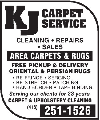 Ads K J Carpet Service