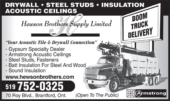 Ads Hewson Brothers Supply Limited