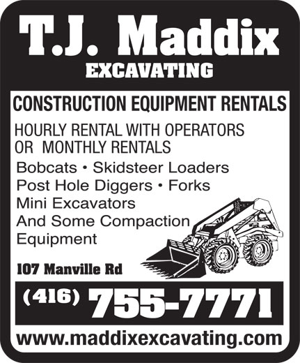 Ads Maddix Excavating Ltd