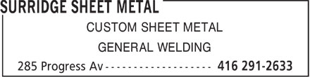 Ads Surridge Sheet Metal