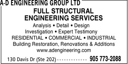 Ads A-D Engineering Group Ltd
