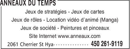 Ads Anneaux Du Temps