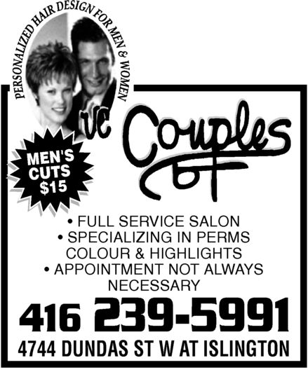 Ads Couples Hair Salon