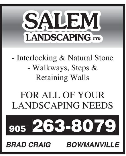 Ads Salem Landscaping