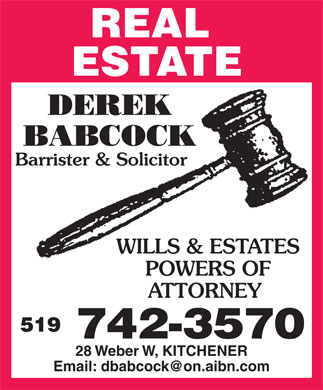 Ads Babcock Derek Law Office