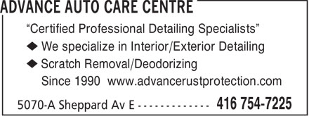 Ads Advance Auto Care Centre