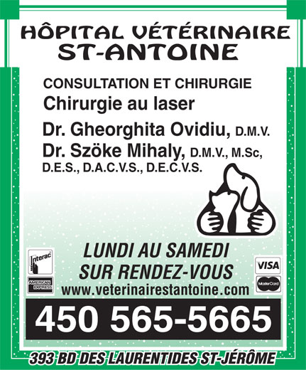Ads Hpital Vtrinaire St Antoine