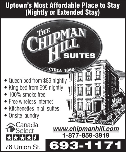 Ads Chipman Hill Suites Limited