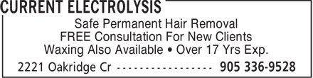 Ads Current Electrolysis
