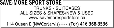 Ads Save-More Sport Store