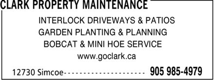 Ads Clark Property Maintenance
