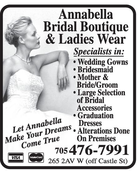 Ads Annabella Ladies Wear & Bridal Boutique