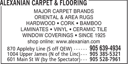 Ads Alexanian Carpet & Flooring