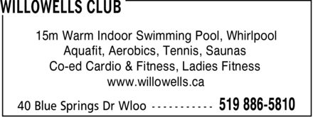 Ads Willowells Club