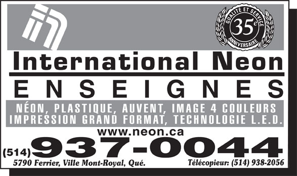 Ads International Neon