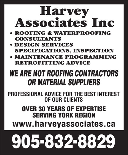 Ads Harvey Associates Inc