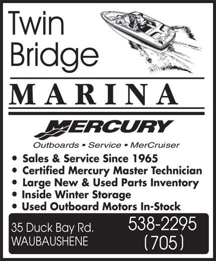 Ads Twin Bridge Marina