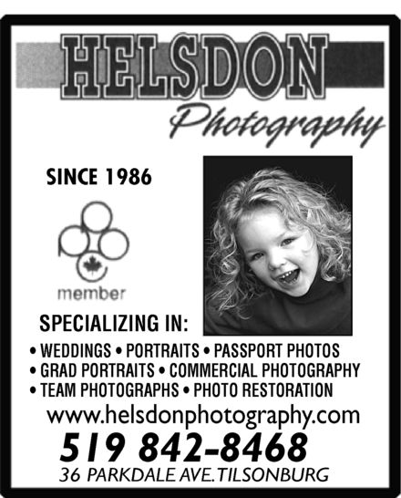 Ads Helsdon Photography