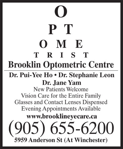 Ads Brooklin Optometric Centre
