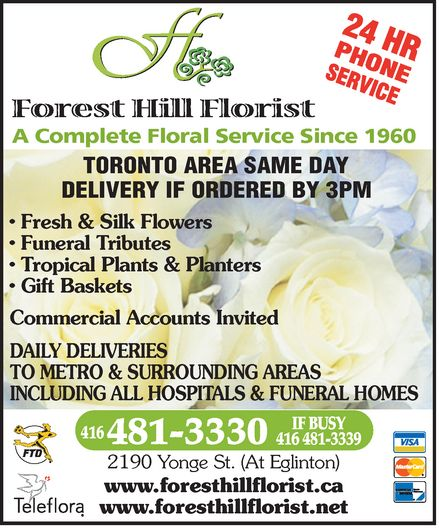 Ads Forest Hill Florist