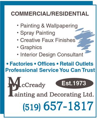 Ads McCready Painting & Decorating Ltd