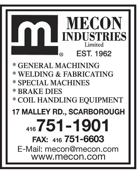 Ads Mecon Industries Limited