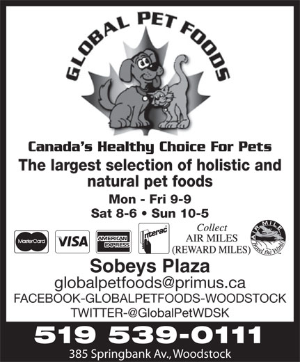 Ads Global Pet Foods