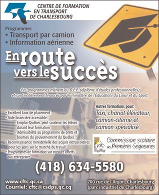 Ads Centre de formation en transport deCharlesbourg