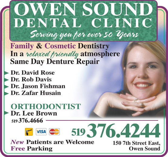 Ads Owen Sound Dental Clinic