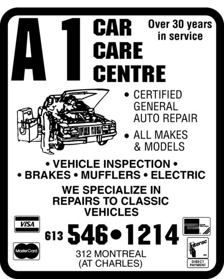 Ads A 1 Car Care Centre