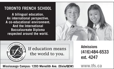 Ads Toronto French School