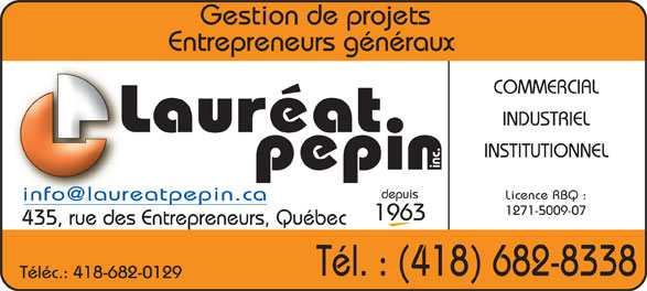 Ads Pépin Lauréat Inc