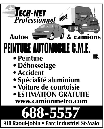 Ads Peinture Automobile CME Inc