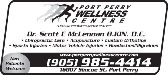 Ads Port Perry Wellness Centre