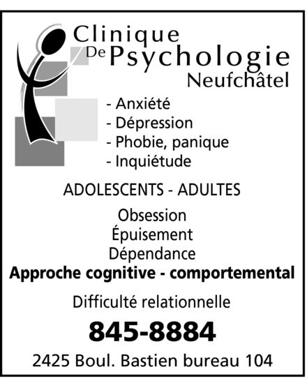 Ads Clinique De Psychologie Neufchâtel
