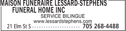 Ads Lessard-Stephens Funeral Home Inc